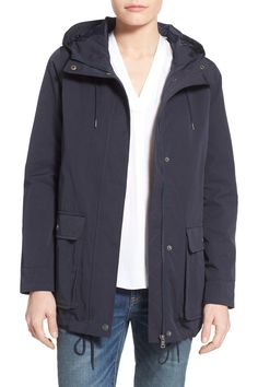 Hooded Swing Jacket by Levi's on @nordstrom_rack