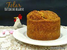 Ponto de Rebuçado Receitas: Dia Um...Na Cozinha! E um Folar de Bater Algarvio Algarve, Pavlova, Cornbread, Vanilla Cake, Recipies, Pudding, Sweets, Ethnic Recipes, Desserts