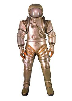 Space Suit late 1940s - Retro Futurism / Vintage Future / Science Fiction / Sci Fi - Outer Space