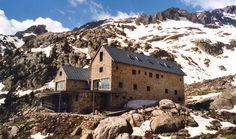 refugio de Angel Orus (Forcau) en los pirineos