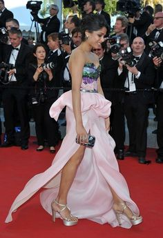 Freida Pinto | Who Put The Most Work Into Their Cannes Outfits?