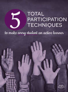 5 total participation techniques to make every student an active learner. Persida and William Himmele share strategies that can boost student engagement in the classroom.