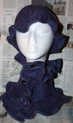 Knitting and Felting... Hat and Loop