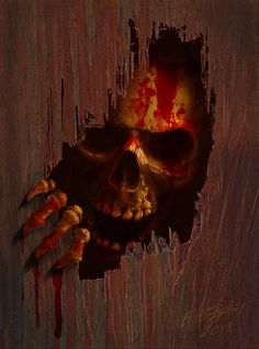 Twisted Art For Twisted Minds: Photo Skull Tattoo Design, Skull Design, Skull Tattoos, Scary Wallpaper, Skull Wallpaper, Grim Reaper Art, Totenkopf Tattoos, Rock Poster, Gothic Fantasy Art