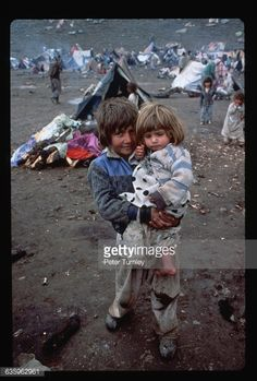 Kurdish Refugee Children during the Iran-Iraq-War.