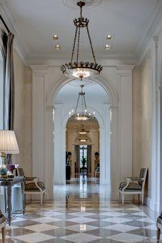 Immaculate hallway!