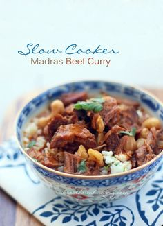 Slow Cooker Beef Curry – Low Carb and Gluten Free    YUMMY!