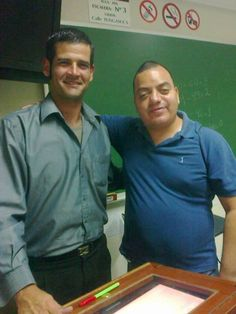 Con Teacher Gonzalo Javier Pérez-Zollner Gamero de Basic 6