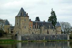 La Chapelle d'Angillon, Centre France