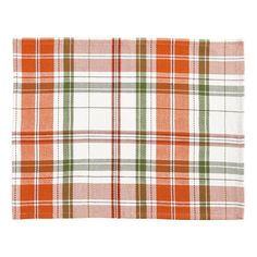 Grove Plaid Placemat Unique Home Decor, Home Decor Items, Thanksgiving Dinnerware, Thanksgiving Decorations, Table Decorations, Linen Placemats, Business Furniture, Fall Table, Table Linens