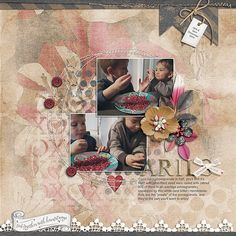kimeric kreations: Heartstrings - New this week! and..a beautiful cluster from Anita :)