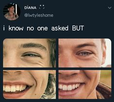 The dimple never changed ♥️♥️ Harry Styles Memes, Harry Styles Pictures, One Direction Harry, One Direction Memes, He Makes Me Happy, On The Road Again, My Heart Hurts, Midnight Memories, Treat People With Kindness