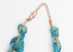 How to make a Zari Rope Necklace - Jewellery Making Hints and Tips Jewelry Making Tutorials, Jewellery Making, Rope Necklace, Jewelry Necklaces, Create, Jewelry, Jewelry Making, Make Jewelry, Diy Jewelry Making