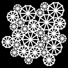 "The Crafter's Workshop 12""x12"" Stencil - Parasols,$7.49"