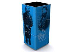 Ibsen in Our Time exhibit from Motorfinger Design Studio