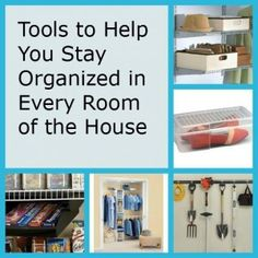 Tools to Help You Stay Organized in Every Room
