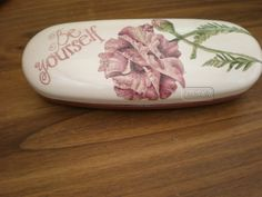 Butter Dish, Decoupage, Dishes, Kitchen, Crates, Cooking, Tablewares, Flatware, Tableware