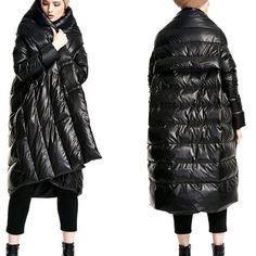 Women winter down coat long duck down jacket thick warm outwear plus size  coat maxi coat parka plus 0278267186c5a
