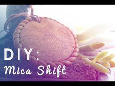 DIY: MICA SHIFT with polymer clay  www.youtube.com/mymandarinducky