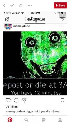 I'm only reposting because they used Jeff the killer as the picture