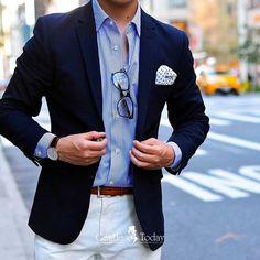 Blazer outfits men - Buy stylish men`s accessories online – Blazer outfits men Blazer Outfits Men, Mens Fashion Blazer, Stylish Mens Outfits, Suit Fashion, Men Blazer, Stylish Mens Fashion, Blazer Jacket, Der Gentleman, Gentleman Style