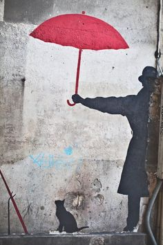 Paris Street Art Banksy Graffiti Photo by DanielleAquiline on Etsy, $30.00 #streetart
