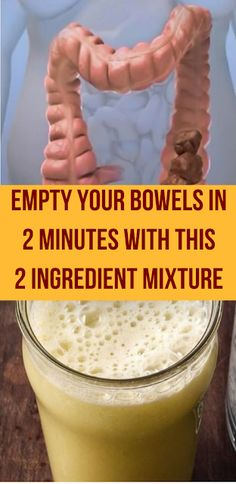 Empty Your Bowels In 2 Minutes With This 2 Ingredient Mixture #bowels #detox #detoxification #health #healthy #healthcare #wellness #homeremedies #remedies Natural Treatments, Natural Cures, Natural Health, Paar Workout, Bowel Cleanse, Digestive Cleanse, Detox Cleanse For Bloating, Colon Detox, Natural Colon Cleanse