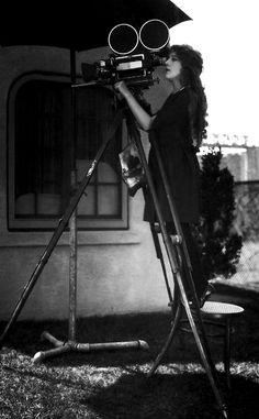 Mary Pickford behind the camera