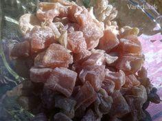 Cuketové cukríky ovocné, bylinkové