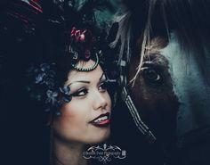 Warrior princess shoot by Beatnik twist photography
