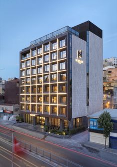 Completed in 2015 in Şişli, Turkey. Images by Cemal Emden. The hotel is located at the main district of Dolapdere going to Taksim.  It is the new developing area. There are other hotels as well as the Bilgi...