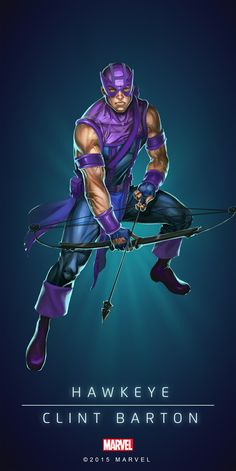 Hawkeye Classic Poster-02