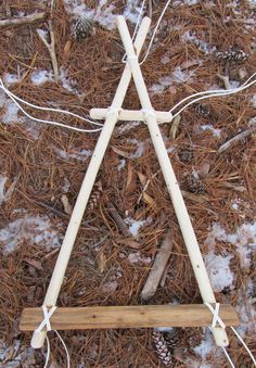 At one of Mors Kochanski's wilderness skills courses some years ago, I made an improvised pack frame from three sticks. Such a frame is an a...