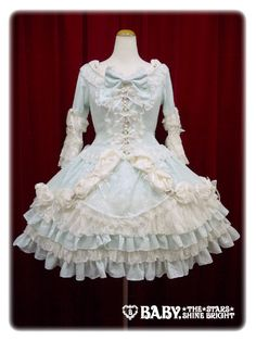 Baby, the stars shine bright Rosa Mistica〜Mysterious window of the rose〜one piece dress