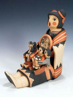 Jemez Pueblo Pottery Storyteller by Linda Fragua