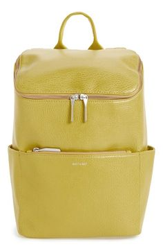 Free shipping and returns on Matt & Nat 'Brave' Vegan Leather Backpack at Nordstrom.com. A classic backpack goes street-chic with textured vegan leather, a spacious interior and a plethora of easy-to-access pockets. Lining made from recycled plastic bottles adds an eco-friendly touch.