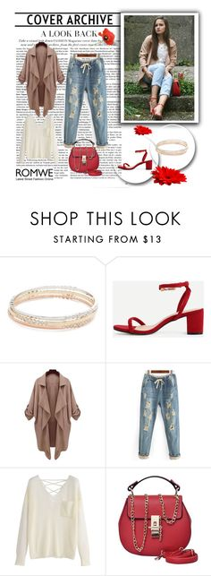 """""""Romwe 6/VII"""" by nermina-okanovic ❤ liked on Polyvore featuring Kate Spade and romwe"""