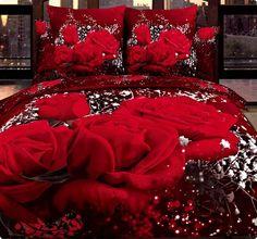 """Комплект постельного белья с розами сатин """"Эйфория"""". Скидка 5% по кодовому слову """"Pinterest"""" satinoff.ru"""