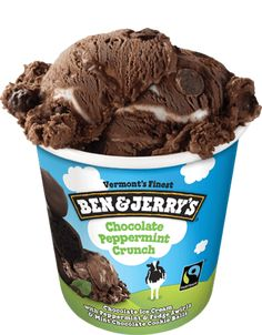Chocolate Peppermint Crunch Ice Cream | Ben & Jerry's