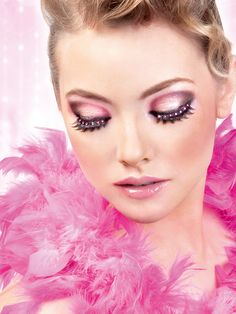 6e6bba8e593 photos of bright pink eyelash items - Google Search Black Makeup Looks,  Pretty Makeup,