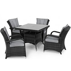 Rattan Garden Furniture 4 Seater san diego rattan garden furniture brown 6 seat garden bar set with