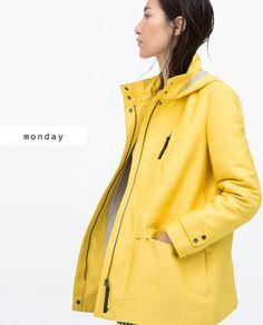 This is my dream rain coat! Plus yellow rain boots.