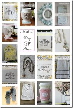 Mothers Day ideas!