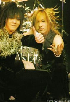 Kai & Uruha - The GazettE. ♡ ♡