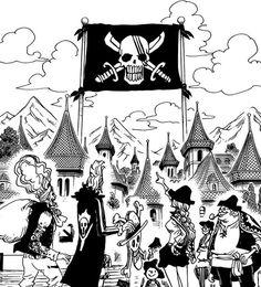 Bartolomeo selling Straw Hat Merch in Pirate Emperor territory