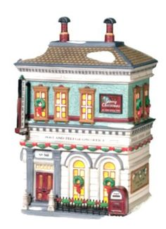 Department 56 Christmas In The City Post Telegraph Office >>> Check this awesome product by going to the link at the image.