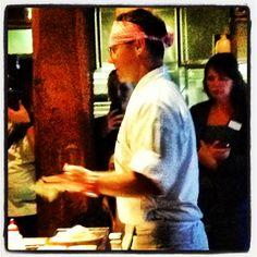 Shaun Presland teaching Sushi making Sushi Restaurants, Japanese Food, Restaurant Bar, Brisbane, Behind The Scenes, Teaching, Couple Photos, Couple Shots, Japanese Dishes