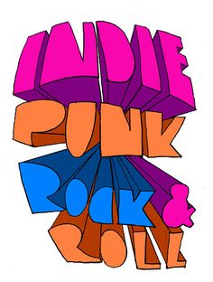INDIE PUNK ROCK AND ROLL by eemmah