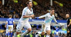 Frank Lampard scores twice as Chelsea come from behind to beat Everton #soccer #sports