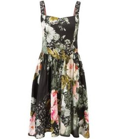 Joe Browns Women's Vintage Flower Dress  The floral colours remind us of a beautiful summer's dusk... a fine vintage that's perfect for garden parties and many other occasions. The fully shirred back just adds to the appeal! 100% Viscose Approx Length: 103cm : Rank: in Clothing  Price:	$54.00